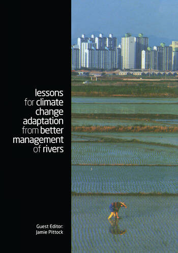 Lessons for Climate Change Adaptation from Better Management of Rivers book cover
