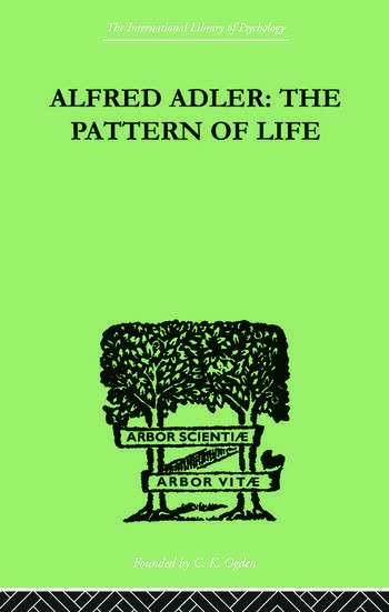 Alfred Adler The Pattern of Life book cover