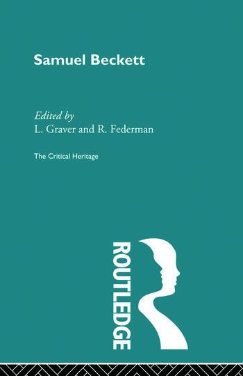 Samuel Beckett book cover