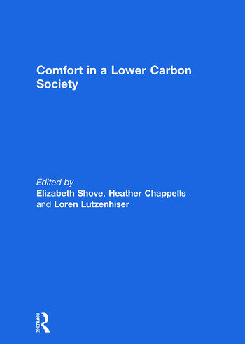 Comfort in a Lower Carbon Society book cover