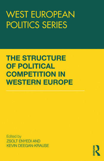 The Structure of Political Competition in Western Europe book cover