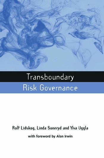 Transboundary Risk Governance book cover