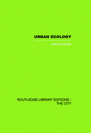 Urban Ecology book cover