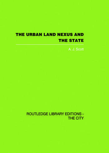 The Urban Land Nexus and the State book cover