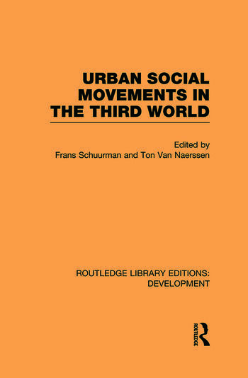 Urban Social Movements in the Third World book cover
