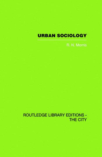 Urban Sociology book cover