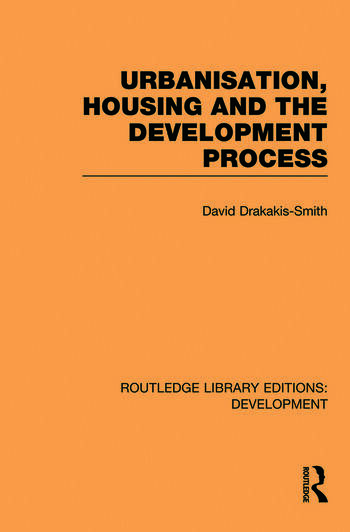Urbanisation, Housing and the Development Process book cover
