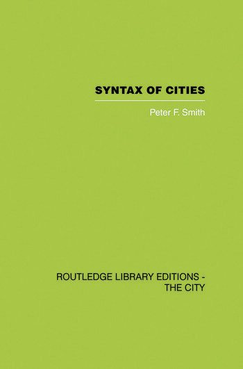 Syntax of Cities book cover