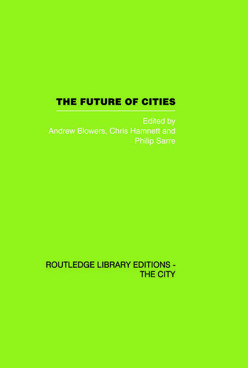 The Future of Cities book cover