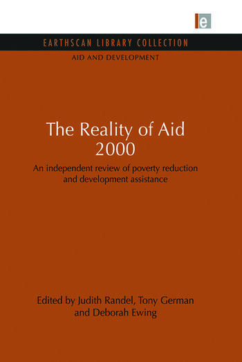 The Reality of Aid 2000 An independent review of poverty reduction and development assistance book cover