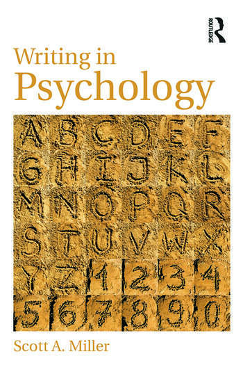 Writing in Psychology book cover