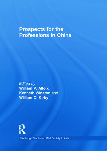 Prospects for the Professions in China book cover
