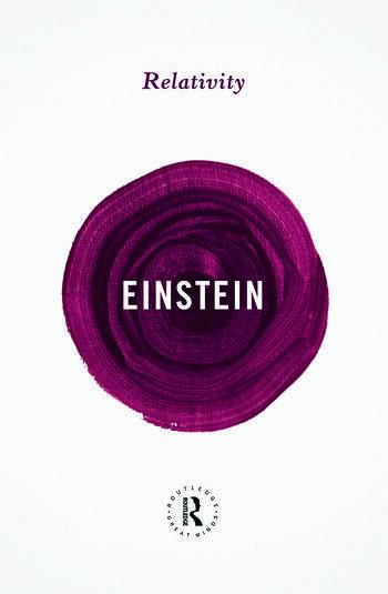 Relativity book cover