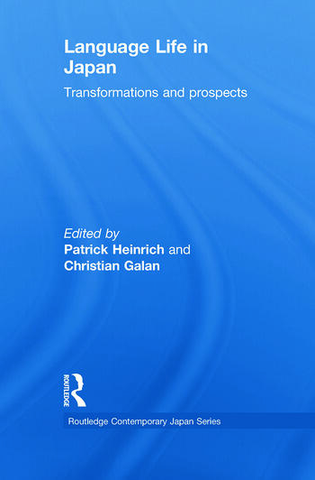 Language Life in Japan Transformations and Prospects book cover