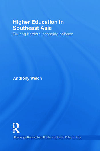 Higher Education in Southeast Asia Blurring Borders, Changing Balance book cover
