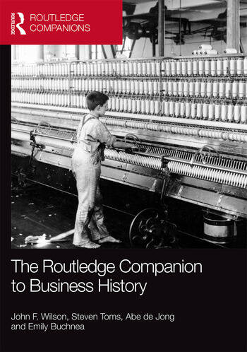 The Routledge Companion to Business History book cover