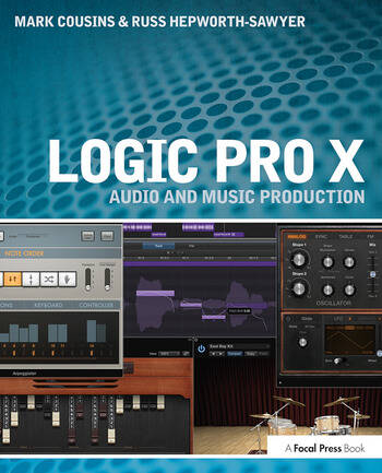 Logic Pro X Audio and Music Production book cover