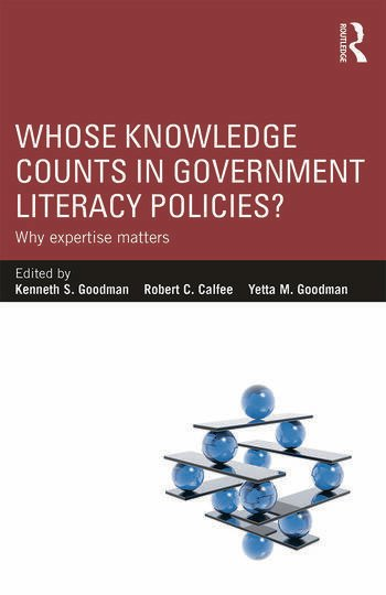 Whose Knowledge Counts in Government Literacy Policies? Why Expertise Matters book cover