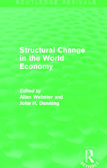 Structural Change in the World Economy (Routledge Revivals) book cover
