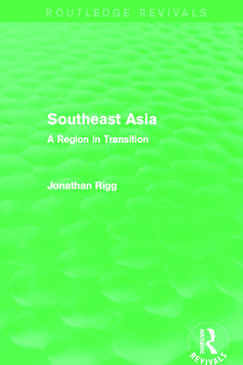Southeast Asia (Routledge Revivals) A Region in Transition book cover
