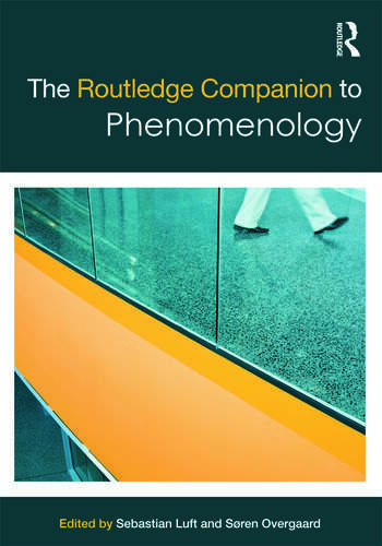 The Routledge Companion to Phenomenology book cover
