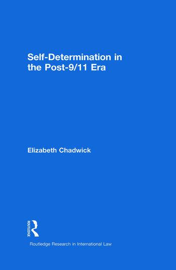 Self-Determination in the Post-9/11 Era book cover