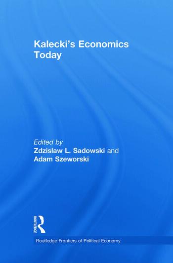 Kalecki's Economics Today book cover