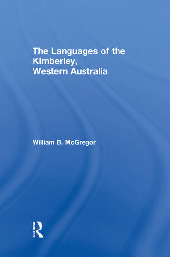 The Languages of the Kimberley, Western Australia book cover