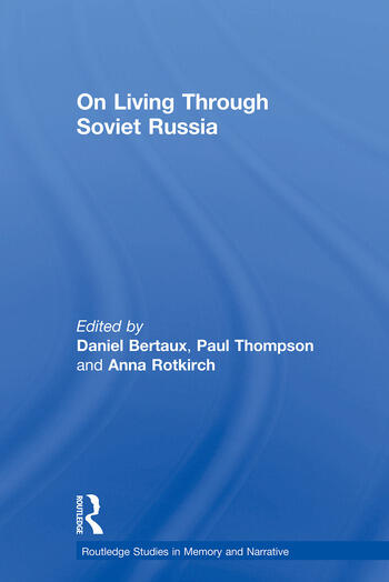 On Living Through Soviet Russia book cover