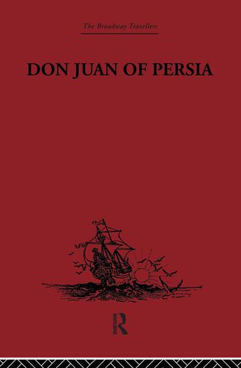 Don Juan of Persia A Shi'ah Catholic 1560-1604 book cover