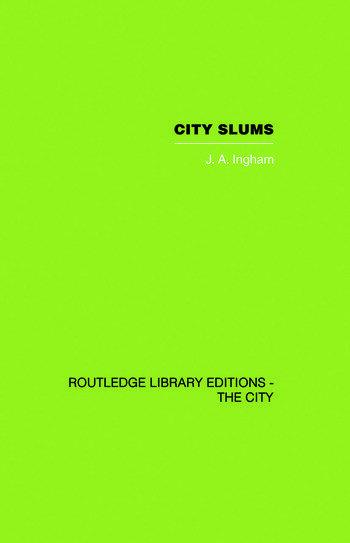 City Slums A Political Thesis book cover