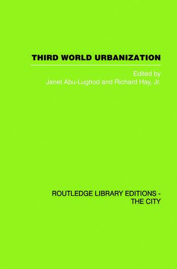 Third World Urbanization book cover