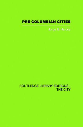 Pre-Colombian Cities book cover