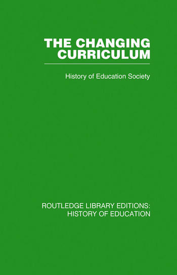 The Changing Curriculum book cover
