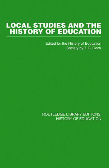 Local Studies and the History of Education book cover