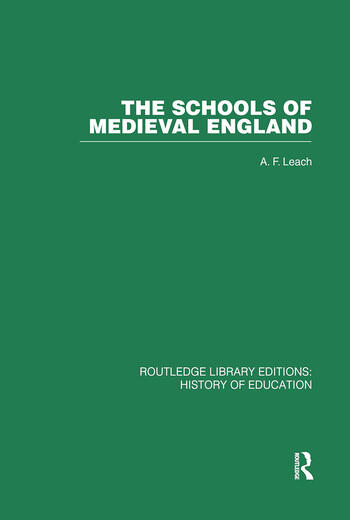 The Schools of Medieval England book cover