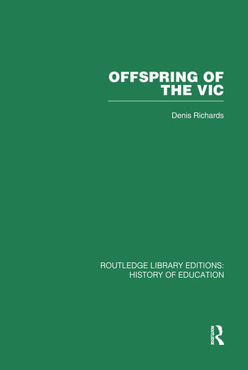 Offspring of the Vic A History of Morley College book cover