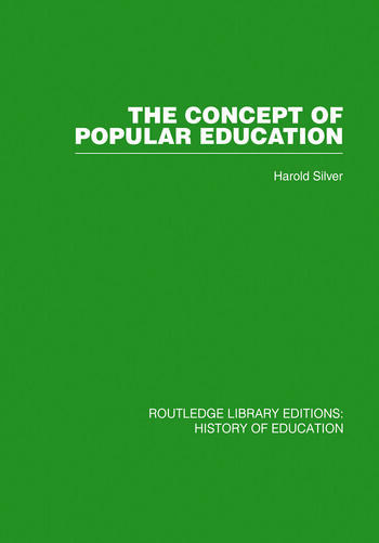 The Concept of Popular Education book cover