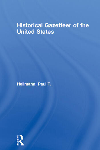Historical Gazetteer of the United States book cover