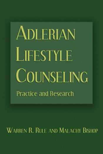 Adlerian Lifestyle Counseling Practice and Research book cover