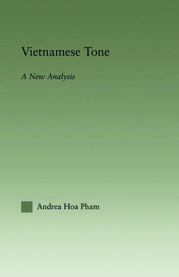 Vietnamese Tone A New Analysis book cover