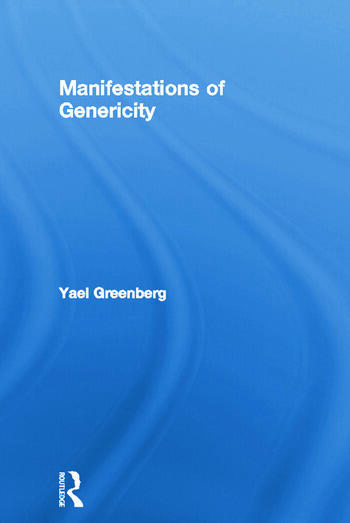 Manifestations of Genericity book cover