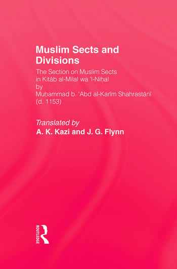 Moslem Sects & Divisions book cover