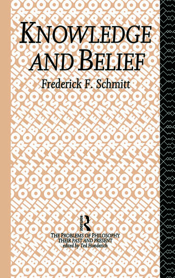 Knowledge and Belief book cover