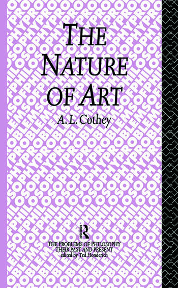 The Nature of Art book cover