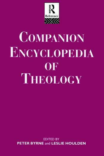 Companion Encyclopedia of Theology book cover