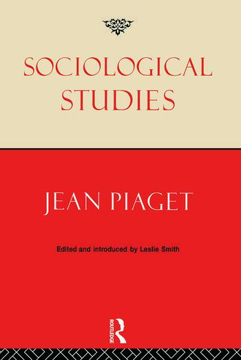 Sociological Studies book cover