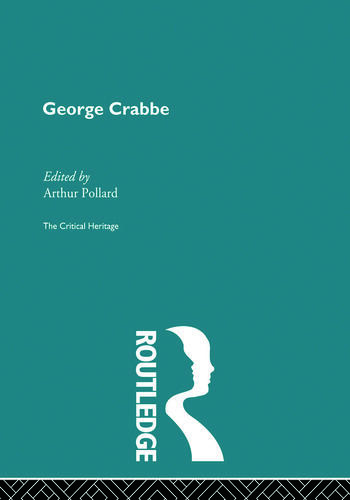 George Crabbe The Critical Heritage book cover