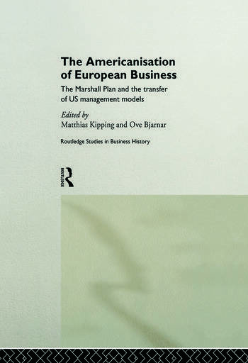 The Americanisation of European Business book cover