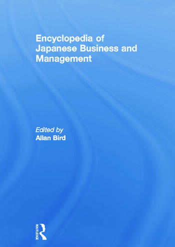 Encyclopedia of Japanese Business and Management book cover